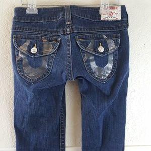 "True Religion ""Julie"" Skinny jeans Size 29 EUC"